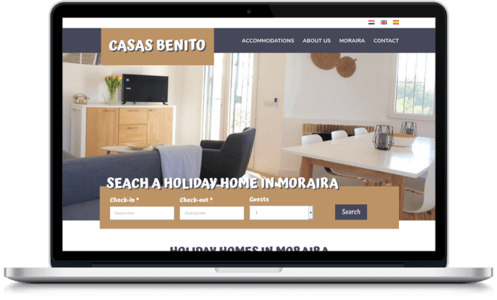Samenwerking Casas Benito en More Online Marketing 2021