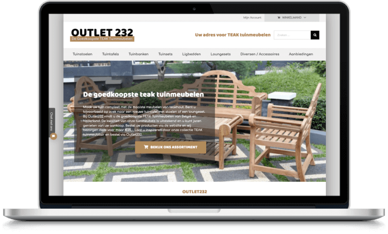 Samenwerking Outlet232 en More Online Marketing