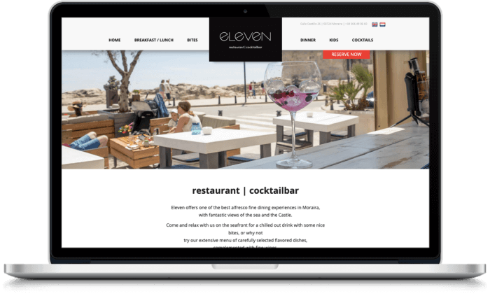 Samenwerking Restaurant Eleven en More Online Marketing 2021