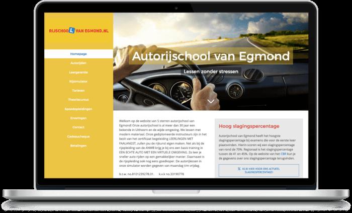 Samenwerking Rijschool van Egmond en More Online Marketing 2021