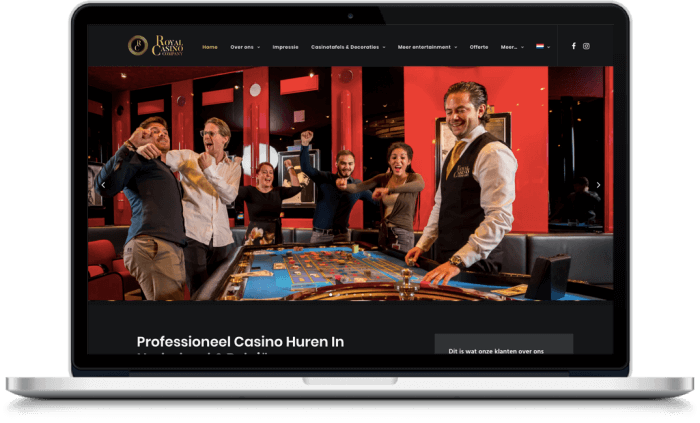 Samenwerking Royal Casino Company en More Online Marketing 2021