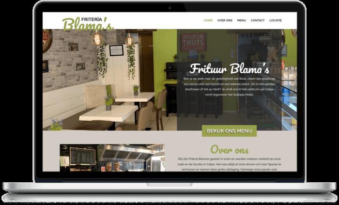 Snackbar Blamas Webdesigner Moraira