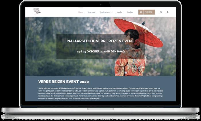 Samenwerking Verre Reizen Event en More Online Marketing 2021