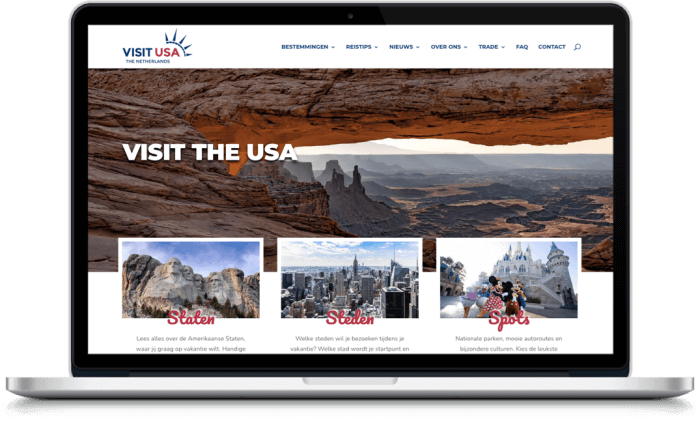Samenwerking Visit USA Nederland en More Online Marketing 2021
