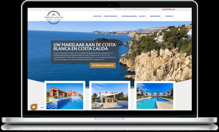 Samenwerking tussen Topcosta Estates en More Online
